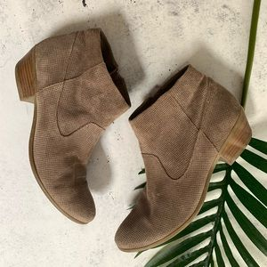 """STEVE MADDEN▪️""""Purf"""" Ankle Tan Bootie. Sz 8.5"""